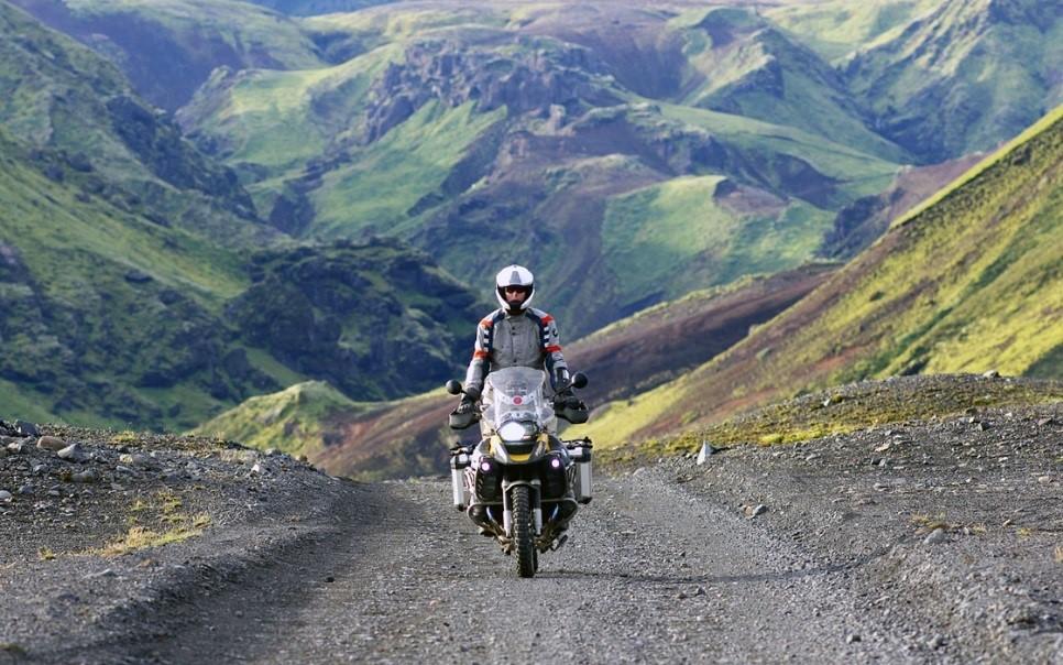 Motorrijden in Ijsland